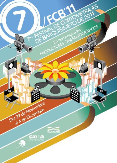 Afiche del Festival de Cortos de Barquisimeto